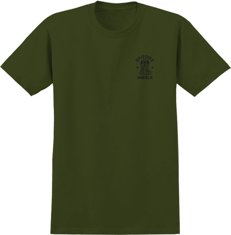 Spitfire Speed Kills S/S Tee (Military Green)