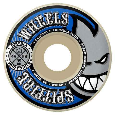 Spitfire Formula Four Fortyniners Classic Wheels (White/99d)
