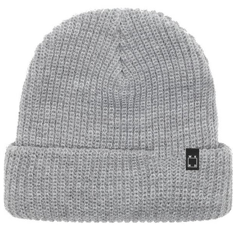 Wknd Watch Cap Beanie (Heather Grey)