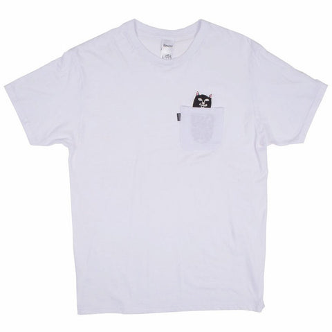 Rip N Dip Jermal S/S Pocket Tee (White)
