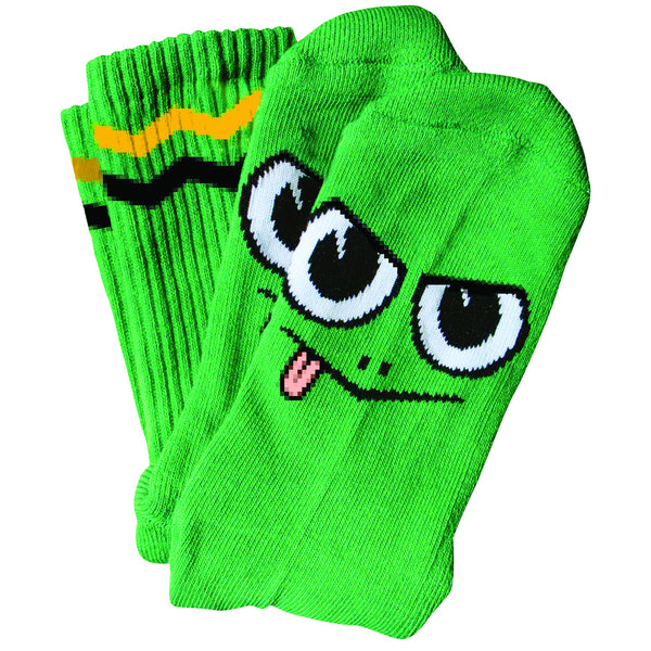 Toy Machine Angry Turtle Socks (Green)