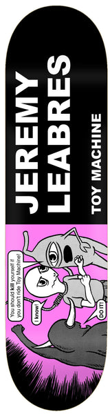 Toy Machine Leabres Tracts Deck