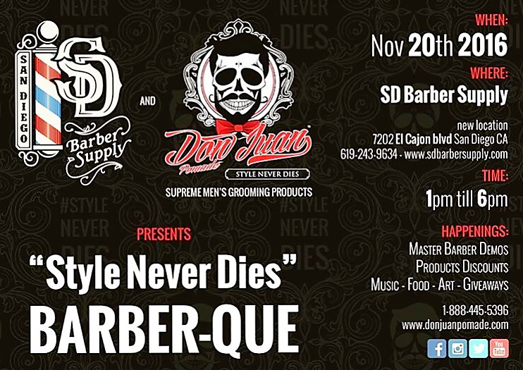 San Diego Barber Supply 1st Annual Networking Event Nov 20, 2016