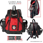 Barber Geeks Carry Bag- Black & Red