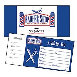 Scalpmaster Gift Certificates