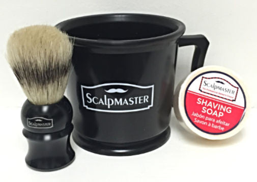 Scalpmaster Shaving Set