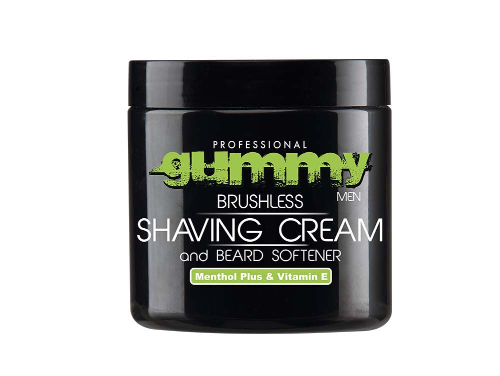 Gummy Menthol Shaving Cream