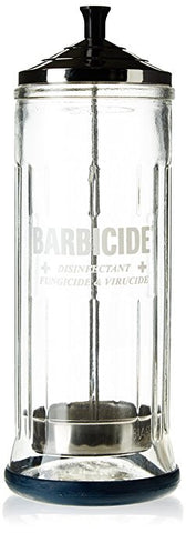 Barbicide Disinfecting Jar -Large Glass