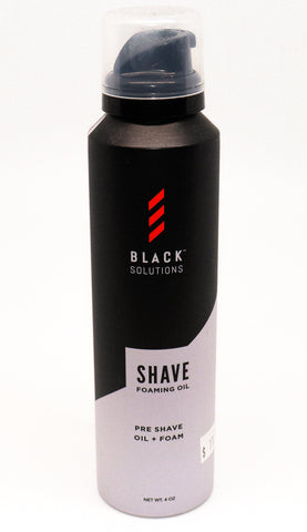 Black Solutions Shave Foaming Oil