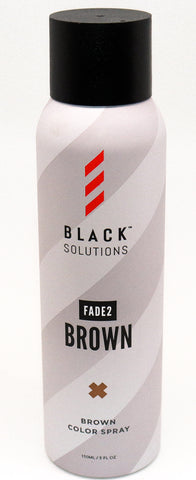 Black Solutions Fade to Brown/Black