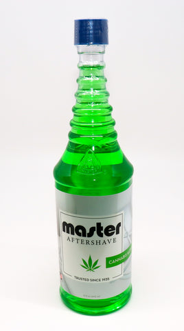 Master Aftershave with Green Oil