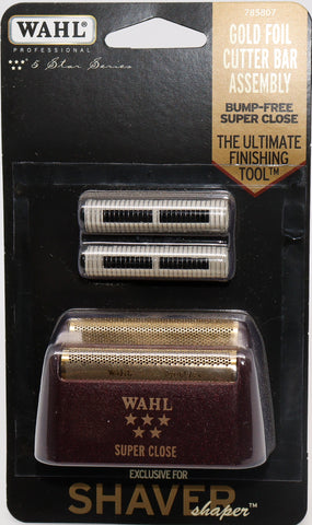 Wahl Shaver/Shaper Replacement Foil & Cutter Bar Assembly