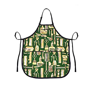 Betty Dain Apron Gold/Green