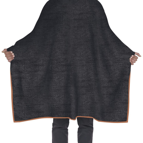 Betty Dain Brooklyn Denim Barber Cape