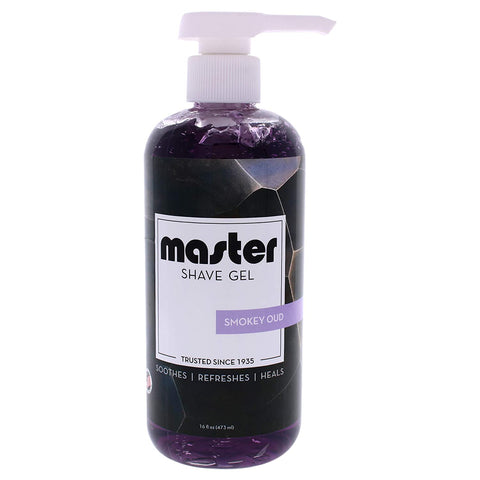 Master Shave Gel-Smokey Oud