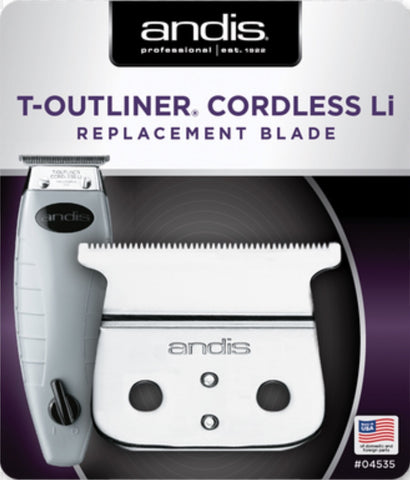 Andis T-outliner cordless Li blade