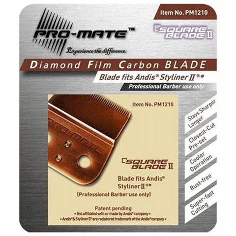 Pro-mate Diamond Film Carbon Blade