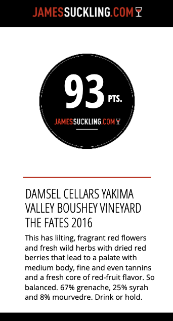 2016 Damsel 'The Fates' GSM Blend