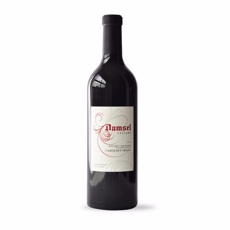 SPECIAL OFFER - 2015 Damsel Boushey Vineyard Cabernet Franc
