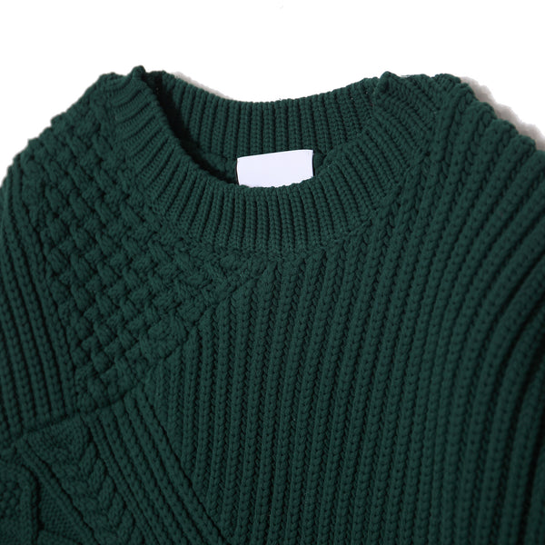 Cable Blocking Knit