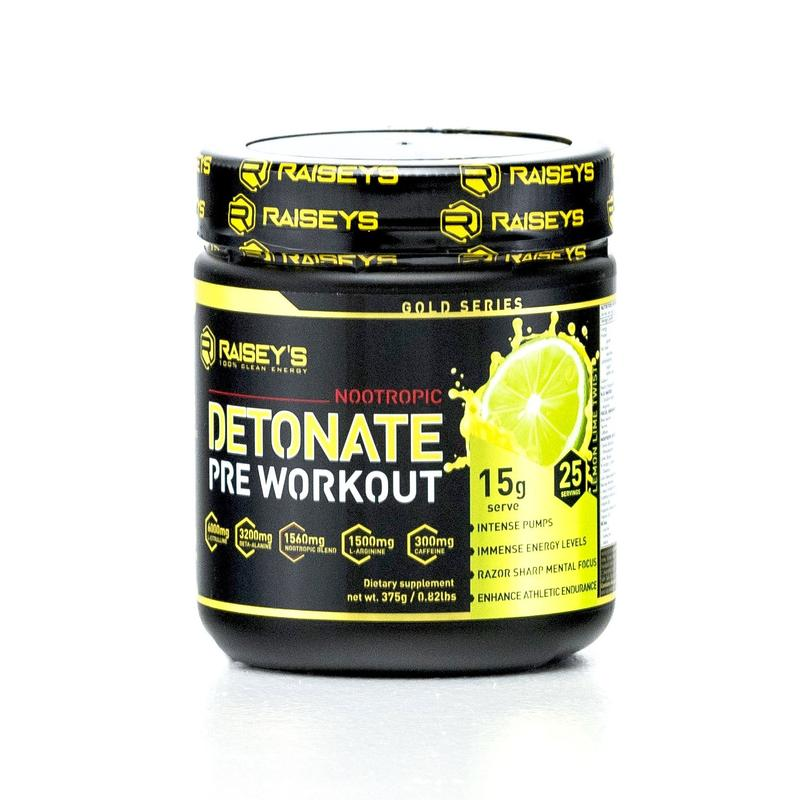 DETONATE NOOTROPIC PRE-WORKOUT 375g - Pro Supplements