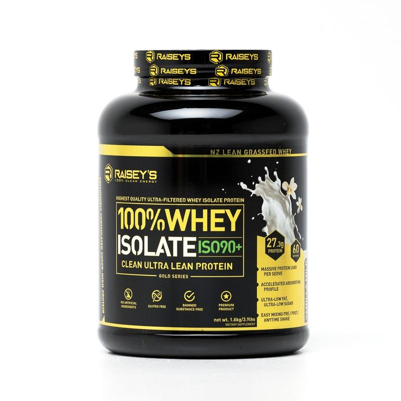 ISO90+ CLEAN LEAN WHEY ISOLATE 5lbs