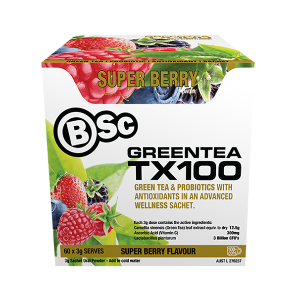 BSC GREEN TEA TX100 60 SERVE - Pro Supplements