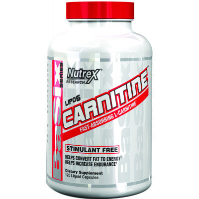 Nutrex Carnitine 60caps - Pro Supplements