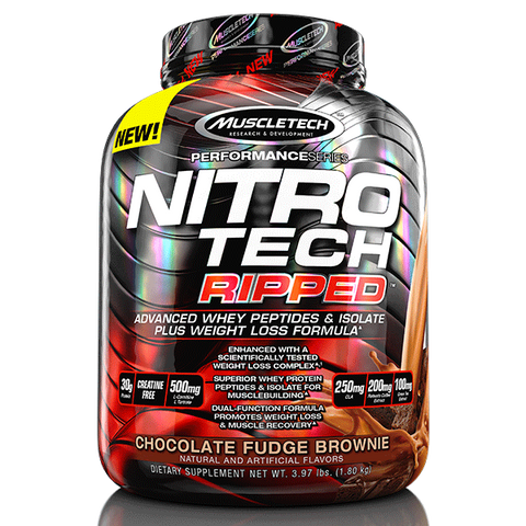 Muscletech Nitro-Tech Ripped 4lb - Pro Supplements