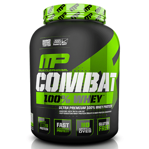 Muscle Pharm Combat 100% Whey 5lb - Pro Supplements