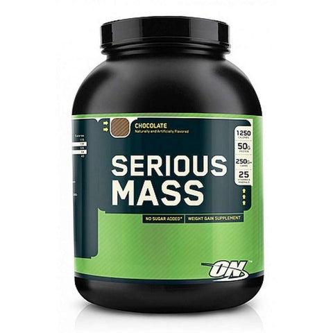OPTIMUM NUTRITION SERIOUS MASS 6LB - Pro Supplements