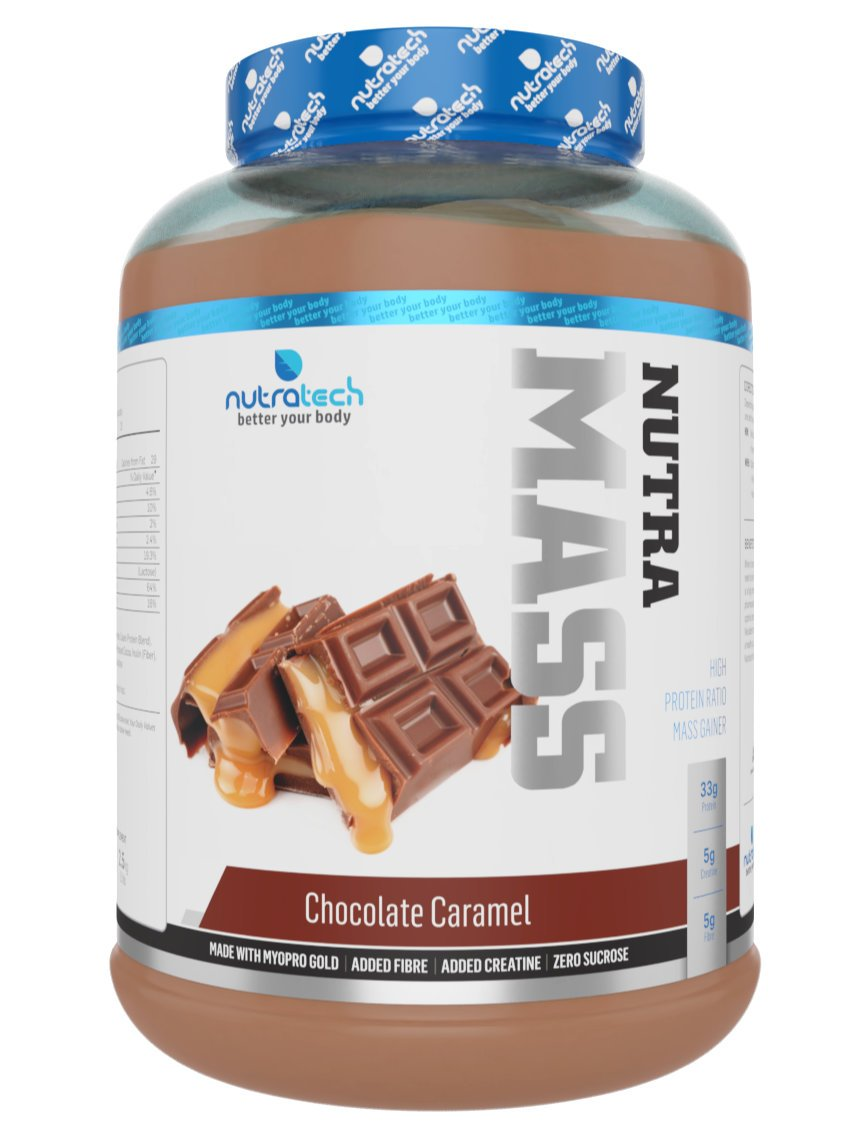 NUTRAMASS 5.5LB | FORTIFIED MASS GAINER
