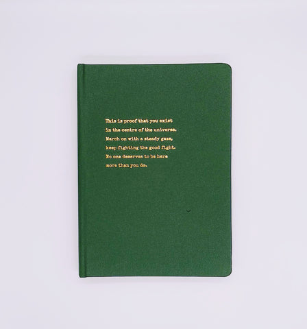 SPD x TNE (Typewritten Poem) Journal - PROOF