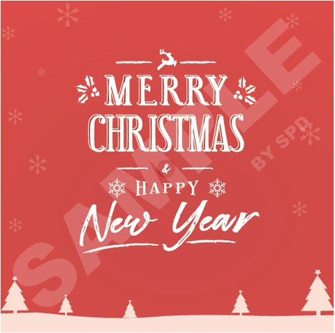 2019 Merry Christmas & Happy New Year CC19-04