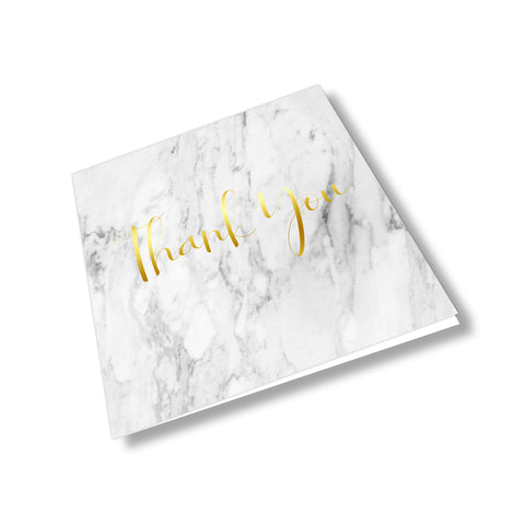 Thank You Card - Marble