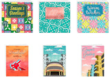 2020 Season's Greeting Cards: Nostalgia Collection (Bundle of 6 Different Designs)