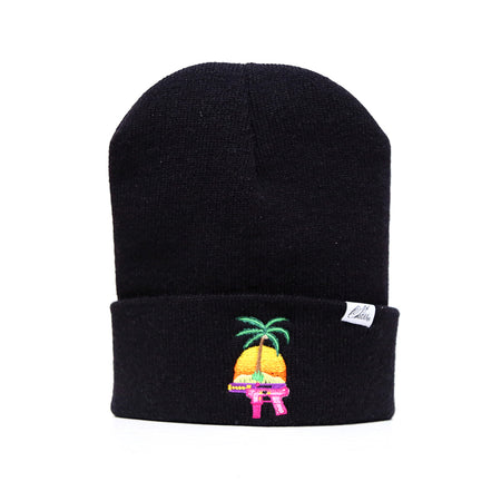 F Women Get Money Beanie in Black