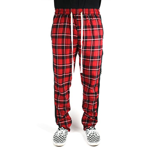 Achilles Plaid Track Pants