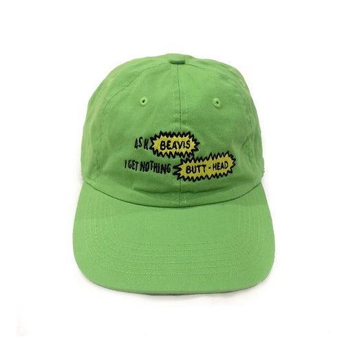 The Butt-Head Cap in Lime