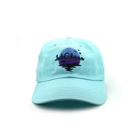 F Cancer Caps in Turquoise