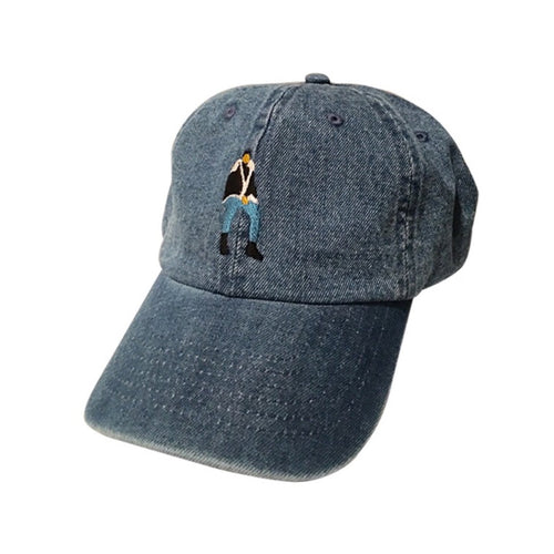 Views From The Hat cap in denim