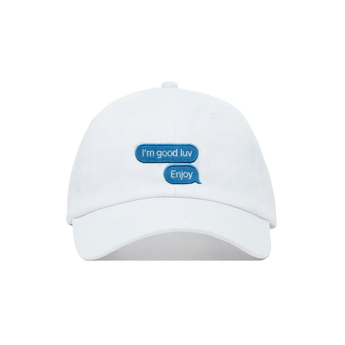 Enjoy Cap in White