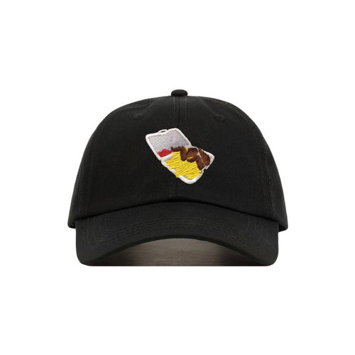 Chinese Food Cap in Black