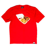 Chinese food Tee in Red