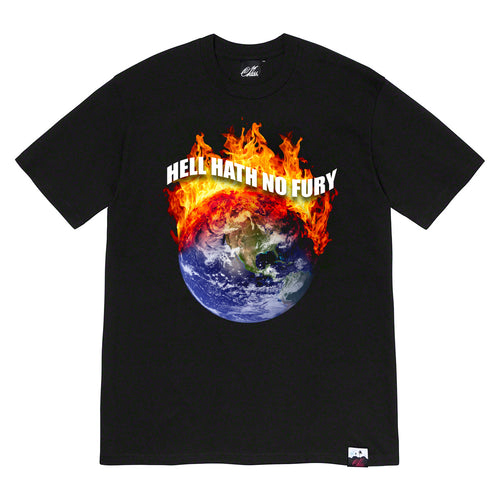 Hell Hath No Fury Tee in Black