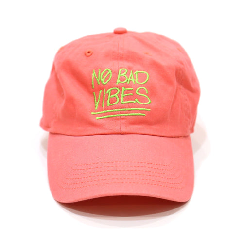 No Bad Vibes Multi in Pink