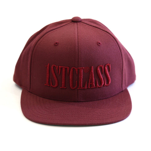 CAPITAL LOGO SNAPBACK IN MAROON