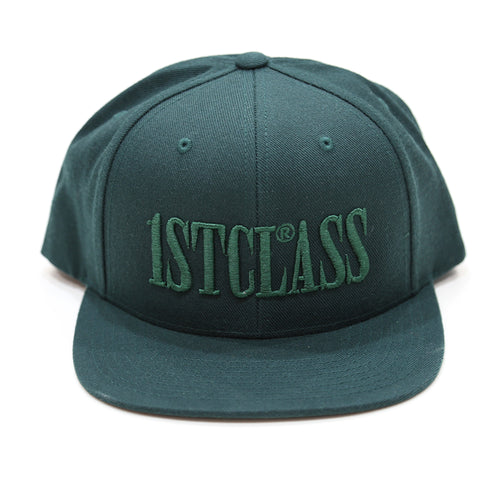 CAPITAL LOGO SNAPBACK IN DARK GREEN