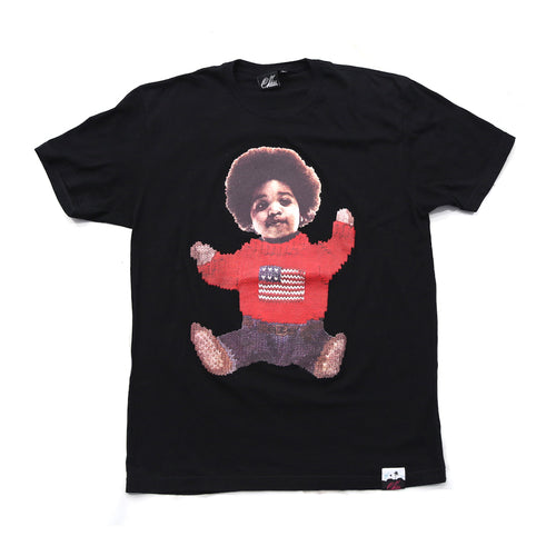 Biggie Sitdown Tee in Black