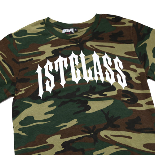 Arch Tee in Camo